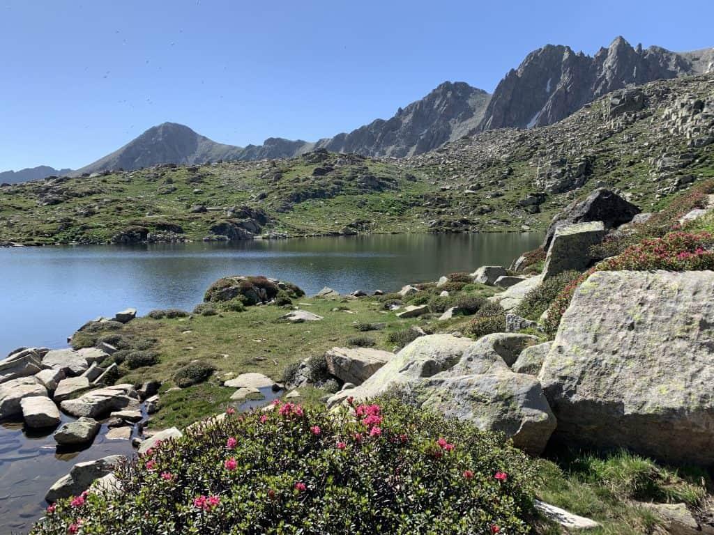 randonnée facile Bouillouses pyrénées orientales