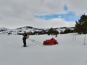 stage montagne hivernale, sécurité, nivologie, planification d'itinéraire