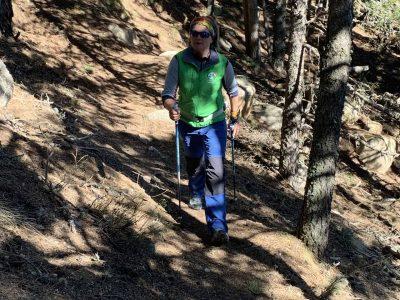 randonnée marche nordique Pyrénées Orientales