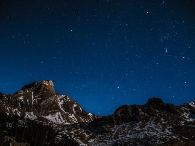 randonnée nocturne, astronomie
